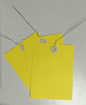 鐵絲吊牌 3